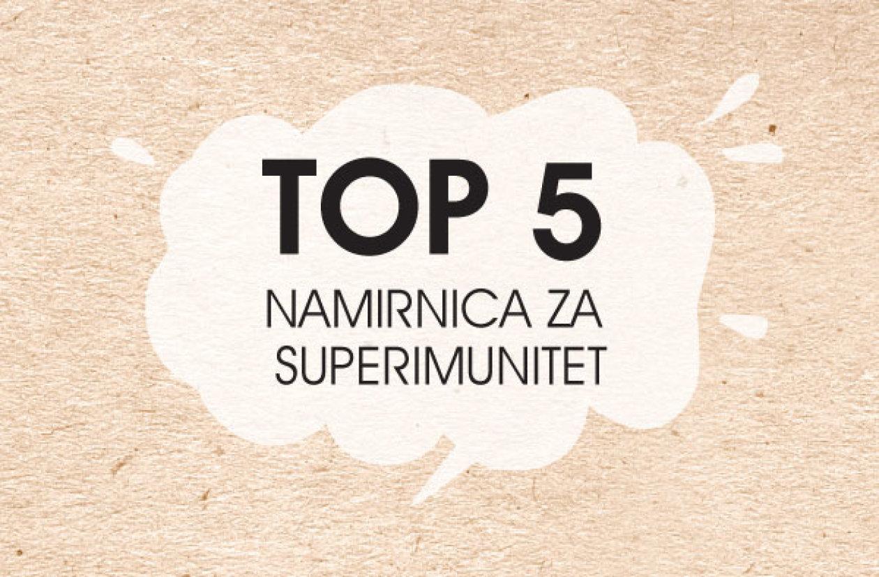 Top 5 namirnica za superimunitet