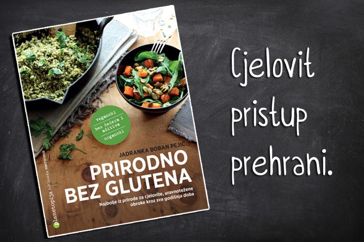 Nova knjiga o prirodnoj prehrani bez glutena