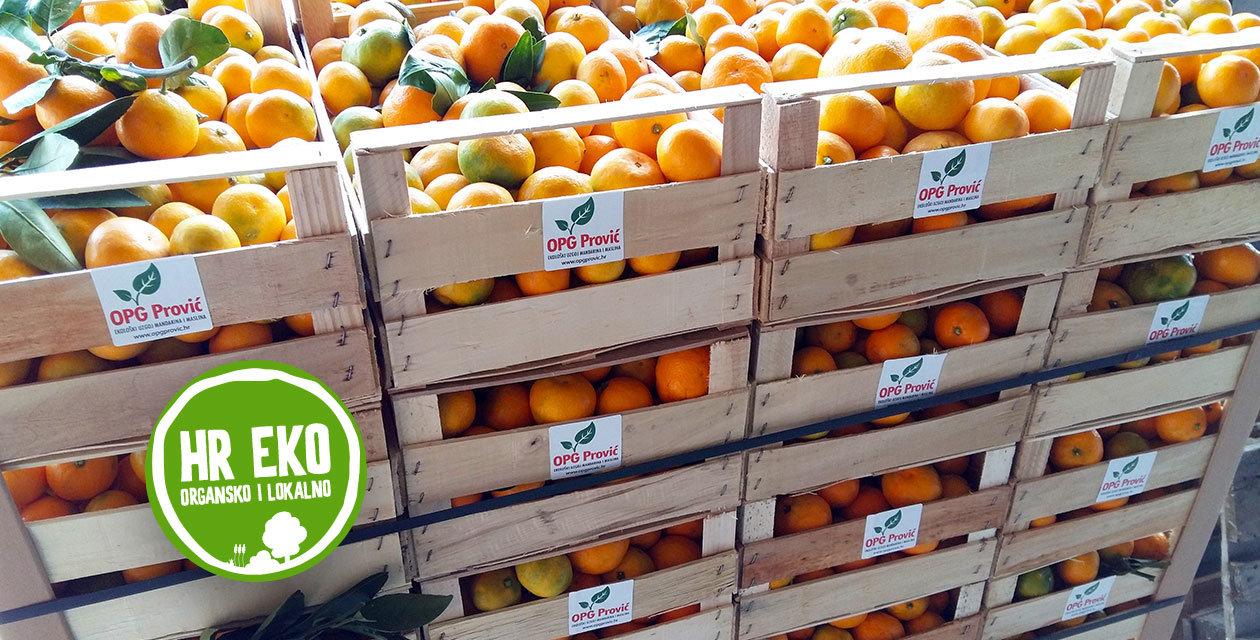 Eko pokret s juga - mandarine iz doline Neretve